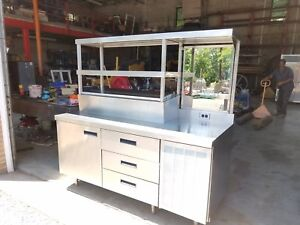 Delfield Custom Refrigerated Prep Table Priced To Sell