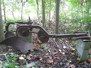 Farmall C Double Plow W 2 Coulters Good Condition