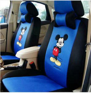2018 New Hot Sell Cute 12 Pcs Mickey Universal Car Seat Covers