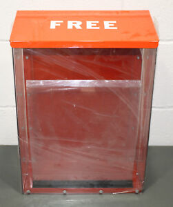 Shorack Outdoor Free Advertisement Dispenser Magazine Brochure Display Case Box
