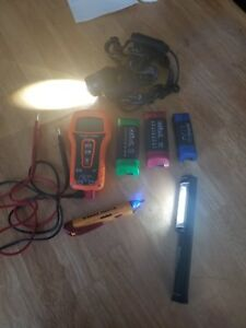Klein Tools Mm500 Auto Ranging Multimeter And Extras