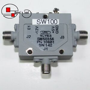 Smt Sm50356 0 2 12ghz Microwave Single pole double throw Spdt Solid state Switch
