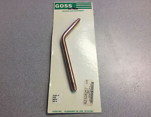 Goss Replacement Welding Nozzle Meco acety Wg 4 3080 4 Oxygen gas Equipment