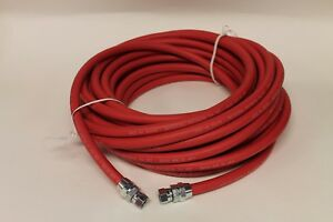 Binks 71 1105 Air Line Hose 1 4 Id X 25 Ft With 1 4 Swivel Fittings