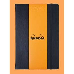 Rhodia Webnotebook Dot Grid 5 5 X 8 3 Inches Black