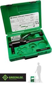 Greenlee 7804 sb Durable Lightweight Quick Draw Hydraulic Punch Driver Kit