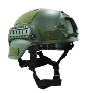 Head Protector with Night Vision Sport Camera Mount Military Paintball Tactical