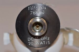You Are Bidding On One Used Narda Power Attenuator 30db Dc 11 Ghz 20w 768 30
