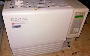 Shimadzu Gc 17a Gas Chromatograph With Fid Flame Ionization Detector