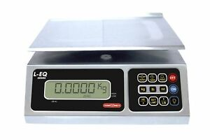Torrey Leq 10 20 High Precision Digital Portion Control Scale Stainless New