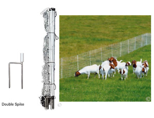 Poultry Net Electric Fence Goat Sheep Pig Outdoor Fencing Large Cage 42 X 164