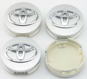 4x Chrome Wheel Center Hub Caps 62mm 2 5 Toyota Camry Avalon Matrix