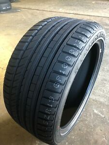 2 New 245 35 20 Kinforest Kf550 Performance Tires Free Shipping 280aa 245 35r20