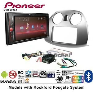 Pioneer Mvh 200ex Double Din Car Stereo Radio Install Kit With Bluetooth