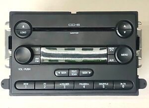 Genuine Oem Media Player Unit 6 Cd Radio Am Fm Aux Stereo Mp3 Cd F250 F350
