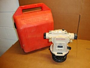 David White 8871 Universal Lt8 300p Surveying Transit Level W Optical Plummet