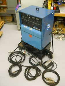 Miller Syncrowave 300 Welder Excellent Condition On Cart