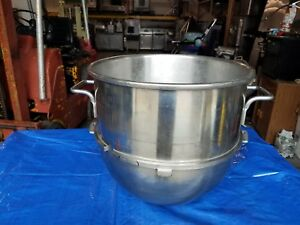 Hobart New Stainless Steel 40 Qt Bowl Mixer bake bakery dough pizza bread