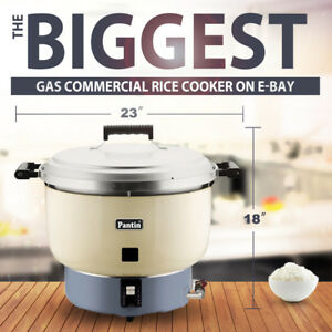Pantin 110 Cup 55 Cup Raw 26l Commercial Biggest Gas Rice Cooker Warmer Nsf