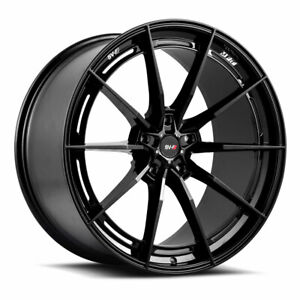 19 Savini Sv f1 Black Forged Concave Wheels Rims Fits Porsche 997 911 4s Turbo