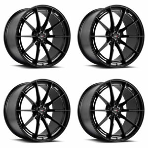 20 Savini Sv f1 Forged Black Concave Wheels Rims Fits Jaguar Xkr