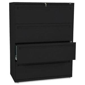 Hon 700 Series Lateral File With Lock 42 X 19 3 X 53 3 Steel 4 X File