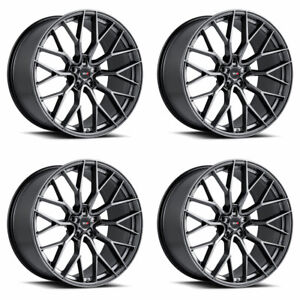 20 Savini Sv F2 Forged Graphite Concave Wheels Rims Fits Tesla Model 3