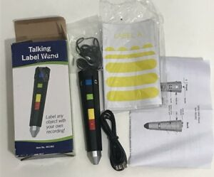 Talking Label Wand Voice Labeling System