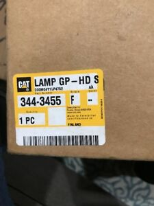 Caterpillar Lamp Gp hd Si 3443455 New