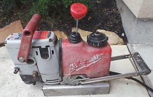 Milwaukee Steel Hawg 4245 Electromagnetic Drill Press Magnetic Drill With Bit