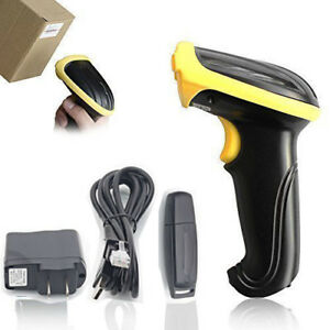 New Wireless 2 4g Usb Handheld Laser Barcode Pos Scan Bar Code Scanner Reader