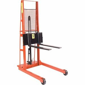 Wesco Straddle Forklift Stacker 1000 lb Cap 260055