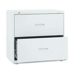 Hon 400 Series Lateral File With Lock 30 X 19 3 X 28 4 Steel 2 X File
