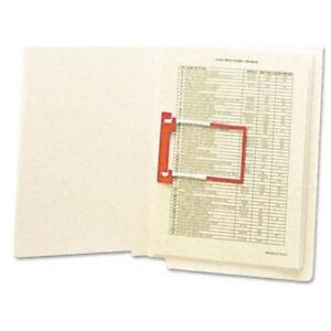 Smead End Tab Fastener File Folder 34112 Letter 8 5 X 11 Straight Tab