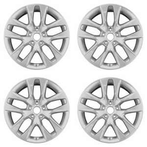 Hyundai Genesis Coupe 2012 2016 18 Factory Oem Staggered Wheels Rims Set