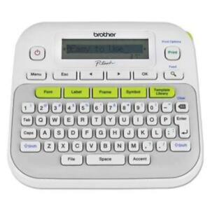 Brother Easy to use Label Maker 0 79 In s Mono Label Tape0 14 ptd210