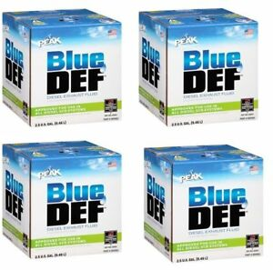 Vpeak Herculiner Def002 Bluedef 2 5 Gallon Jug Diesel Exhaust Fluid Pack Of 4