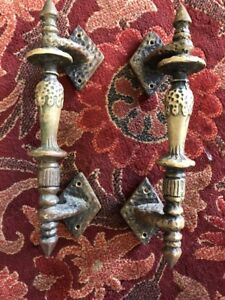 Old Spanish Revival Style Door Pulls
