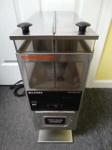Bunn G9 2 Hd Double Hopper Portion Control Commercial Coffee Bean Grinder