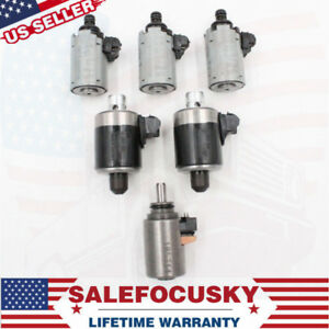 Oem 6pcs 722 6 Solenoids 5 speed Automatic Transmission For Mercedes Benz Tested