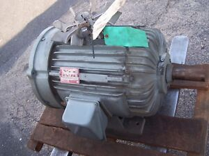 New Delco 15 Hp Ac Electric Motor 324uyz Frame 1175 Rpm 460 Vac