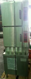Vulcan Gas Convection Steamer Model C24ga10 125000 Btu Oven Natural Gas Can Ship