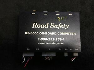 Road Safety Rs 3000 On board Computer 8700