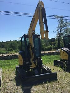2017 low Hour Demo Yanmar Vio35 6a Mini Excavator