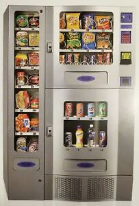 Office Deli Combo Vending Machines Lot Of 4 Parts