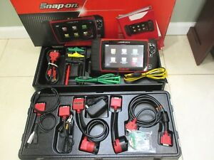 Snapon Modis Ultra Diagnostic Scanner With Europeon Kit 2 Channal Lab Scope