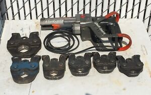Ridgid Propress Ct400 Hydraulic Crimper With 6 Jaws 1 2 Through 2 Copper Tube