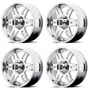 20x8 5 Xd Xd797 Spy 8x180 18 Chrome Wheels Rims Set 4