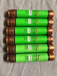 Lot Of 6 Cooper Bussman Frs r 50 Dual element Time delay Fuse 600v 50a