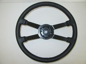 Porsche 911 912 Beautifully Recovered Factory Leather Steering Wheel 91134790200
